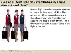 ebook: 80 flight attendant interview questions, supported by ...