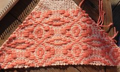 Overshot on a triangle loom | Flickr - Photo Sharing!
