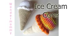 You Scream; I Scream; We all Scream for Ice Cream!!! This is a fun toy.  Who doesn't like ice cream?!?!?! If you do not crochet, but would like one of these…convo me in Etsy.  I'm…