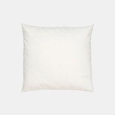 Pute m/naturfyll 40x40cm creme Creme, Bed Pillows, Pillow Cases, Pillows