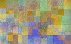 Paul Klee's Polyphany (1932, 66.5 x 106 cm) In this work, Klee creates layers and layers of colour using a pattern of squares overlaid with different coloured dots - this inspired me to do a Paul Klee inspired piece that you can find on the board 'Annie Sloan Techniques'. #ChalkPaint #AnnieSloan #MoreThanPaint