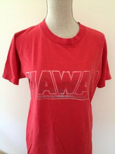 Vintage Hawaii Tshirt by 21Vintage on Etsy, $15.00
