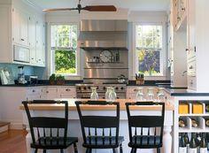Kitchen. Beach House Kitchen. Cottage Kitchen. Waterfront Home Kitchen. Small Cottage Kitchen. #Kitchen