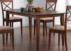 Coaster Home Furnishings 101771 Casual Dining Table Walnut *** Check this awesome product by going to the link at the image.Note:It is affiliate link to Amazon.