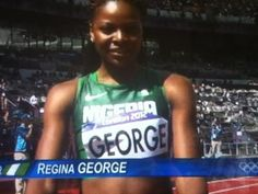 Regina George in the Olympics