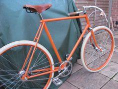 BSA Wayfarer turns Orange Guv'nor / Path Racer