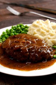 Here's for you the deliciously awesome Best Ever Salisbury Steak. So just go and grab this recipe now! Here's for you the deliciously awesome Best Ever Salisbury Steak. So just go and grab this recipe now! Top Recipes, Cooking Recipes, Healthy Recipes, Saulsberry Steak Recipes, Chopped Steak Recipes, Minute Steak Recipes, Barbecue Recipes, Cooking Tips, Beef Dishes