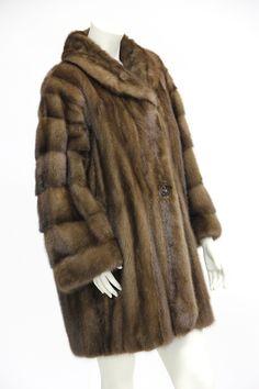 Christian Dior Three Quarter Vintage Mink Coat Sold $1,000
