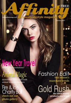 Jan2017  Affinity is a stylish, glossy complimentary publication for everyone. With its glossy cover it oozes style and sophistication. It's distributed to Bedford and villages within Beds, Bucks, Cambs and Northants. Our articles cover health, fitness, beauty, fashion, food & drink, Barry Fry's footie corner, Sport, Motors, Interiors ,Entertainment and Travel, our magazine appeals to men and women alike. Affinity enables local businesses to advertise to discerning and influential readers…