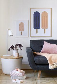 The wall art...have some fun :)    DesignTrade Copenhagen   Interiors Trends For Fall/Winter 2014