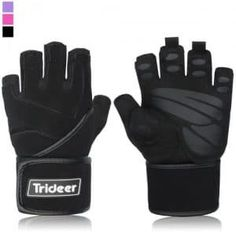 Padded Anti Slip Weight Lifting Gloves Gym Gloves with 18 Wrist Wraps Support for Weightlifting Cross Training Gym Workout Fitness Bodybuilding Silica Gel Grip Breathable Microfiber ** Continue to the product at the image link. Workout Gear, Workout Gloves, No Equipment Workout, Workout Fitness, Best Weight Lifting Gloves, Heavy Weight Lifting, Body Fitness, Fitness Gear, Fitness Diet