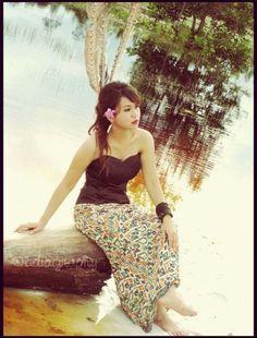 #tribal #dayak #batik #benangbintik #tikar