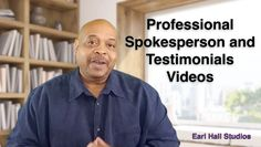 I can provide an up to 2-minute testimonial or spokesperson video for your product or service for just $20.