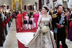 Denmark Royal Wedding | Marriage of Crown Prince Frederik to Mary Donaldson