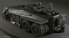 (1/35) APC - Scott Robertson. Hmm, the new Moebius Batmobile model is out, that would provide the tires ... might be a good project.