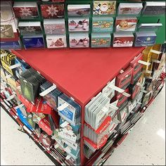 If your strategy is to push Gift Card sales, a massive Christmas Corrugated Gift Card Tower like this might get the job done. Push Gifts, Christmas Gifts, Tower, Walmart, Display Ideas, Mini, Hooks, Cards, Butterfly