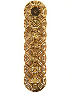 Chakras Wood Art Piece by Dan Schaub Designs