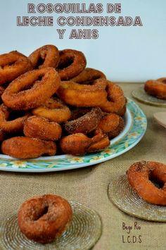 La cocina de Samira: Rosquillas de leche condensada y anís