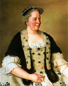 TITLE:	Empress Maria Theresia of Austria  ARTIST:	Jean-Étienne Liotard  COUNTRY OF ORIGIN:	Switzerland  DATE OF CREATION:	1760 AD