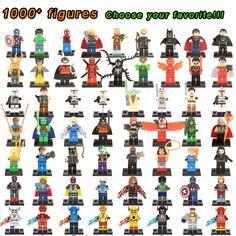 $2.37 - Awesome Super Heroes Marvel Figures Captain American The Hulk Spiderman Iron Man LEGOINGLYS Building Blocks Mini Bricks Children Toys - Buy it Now!