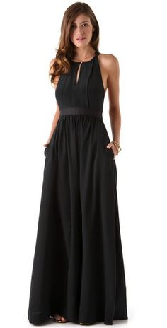long silk dress… - SparkRebel