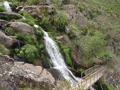 Cascata, ribeira dos Castanheiros, Serra da freita@Portugal em caminhadas