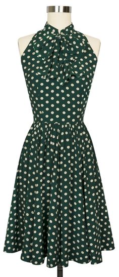 The Trashy Diva Streetcar Dress is back in the new Irish Polka print!