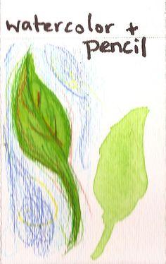 Create Art With Me!: Technique: Watercolors