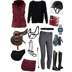 Created in the Polyvore Android app. http://www.polyvore.com/android horse riding clothes