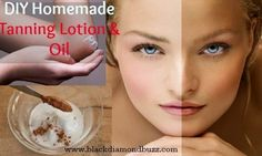 Discover here the Best DIY Natural Homemade Tanning Lotion & Oil that you can use this summer;very cheap to make with spray tan oil and natural recipes