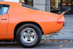 "berlinstreetcars: "" 1973 Chevrolet Camaro Z28. Ohhh my orange sunshine. """