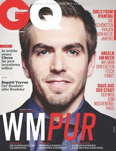 Philip Lahm for GQ