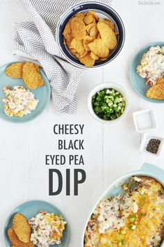 ... New Year with this delicious Black Eyed Pea Dip! #FoodShouldTasteGood