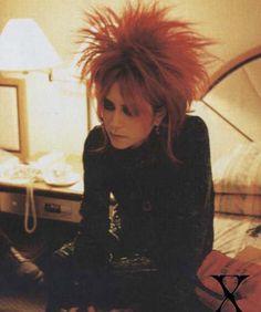 hide hide matsumoto x japan j-rock he looks so pretty