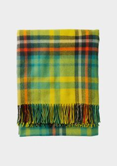 FINE PLAID BLANKET