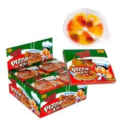GUMMI ZONE boîte de 24 Pizza XXL