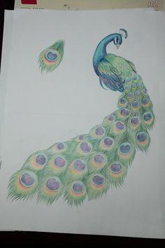 Image Detail for - Peacock tattoo by ~SemeMomoshiDesu on deviantART