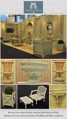 Accent's of France booth at Maison et Objet 2013