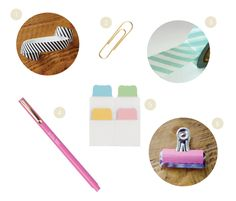 Favorite Simplified Planner accessories