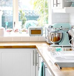Lavender Cottage - Kitchen - eclectic - Kitchen - Other Metro - Torie Jayne Eclectic Kitchen, Cute Kitchen, Kitchen Interior, Kitchen Decor, Kitchen Ideas, Kitchen Inspiration, Decorating Kitchen, Awesome Kitchen, Decorating Ideas