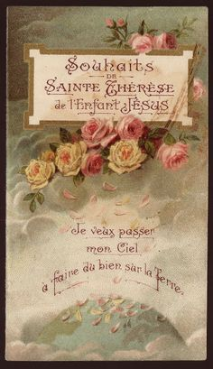 Carmelite Heritage: St. Thérèse of the Child Jesus and the Holy Face