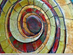 Espirales coloreadas
