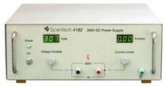 The Scientech 4182 300V, 1A Power Supply has been designed as a constant current (CC) and constant voltage (CV) source for laboratories, industries and field testing applications, featuring low power loss and compact. It provides floating, DC output voltages and is ideally suitable for complex analog and digital applications. The DC output can be continuously adjusted from 10 � 300V with ten turn potentiometer of voltage variable control. Current limit is also adjustable from 100mA - 1A. A…