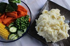 Sistermixin'  Perfect Mashed Potato and Steamed Vegetables done in your Thermo Machine.