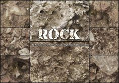 20 Rock Texture PS Brushes abr vol.10