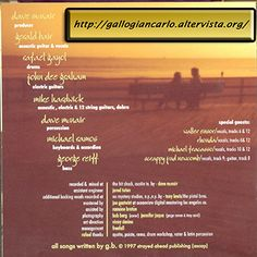"Gerald Bair ""We All Fall Down"" CD Rock - Pop - Country Rock"