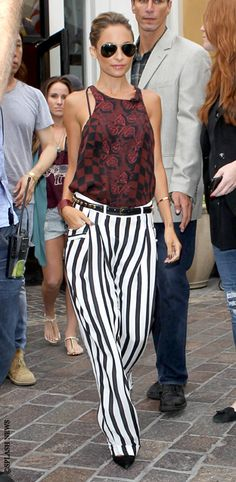 these pants! | Nicole Richie