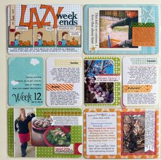 Love the comic strip Love the sweet little moments pocket Love how she incorporated Football news (or any sports news) in the spread 12 Week 12 Left Project Life Scrapbook, Project Life Layouts, Project 365, Pocket Scrapbooking, Scrapbooking Layouts, Comic Strip Love, Smash Book Pages, Life Page, 6 Photos