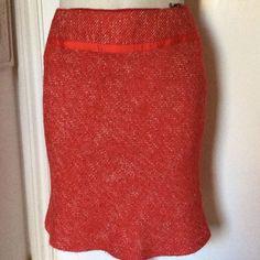 Précis Petite Red Skirt. Size 14  | eBay