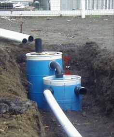 Small Septic system- for a hunting cabin.
